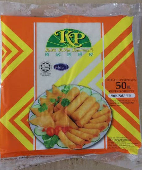Picture of KP S/ROLL 箔饼皮 7.5<br>( 1PKT / 500g )