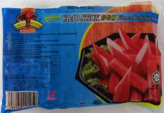 Picture of M/ROOM IMIT CRAB STICK 鲜蟹柳 <br>(1pkt / 250g)