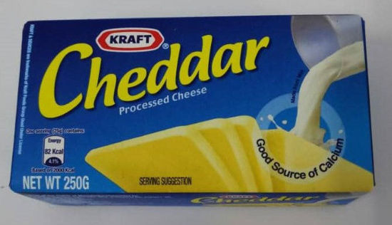 Picture of KRAFT CHEDDAR PROCES<br>(1pkt / 250g)