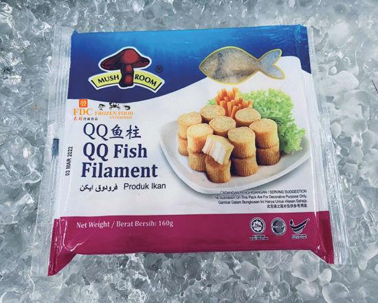 Picture of MUSHROOM QQ FISH FILAMENT <br> QQ鱼柱<br> ( 1PKT / 160g )