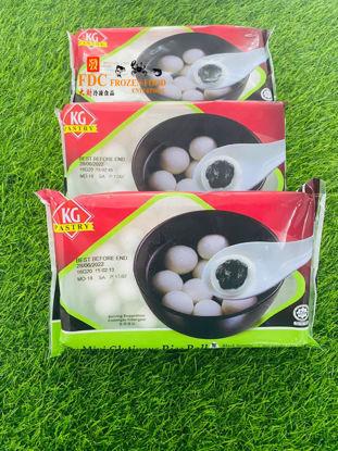 Picture of KG BLACK SEASAME MINI GLUTIOUS RICE BALL  <br>黑芝麻汤圆 <br>( 1PKT / 300g )