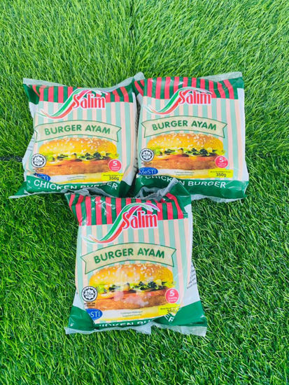 Picture of SALIM CHICKEN BURGER  <br> ( 70g*5PCS )