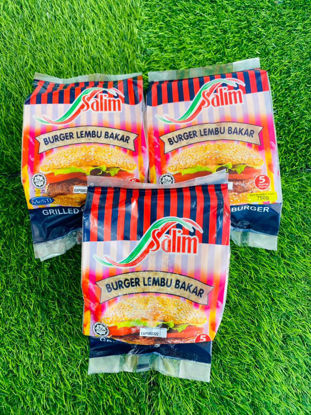 Picture of SALIM GRILL BEEF BURGER <br>( 1PKT / 750g )