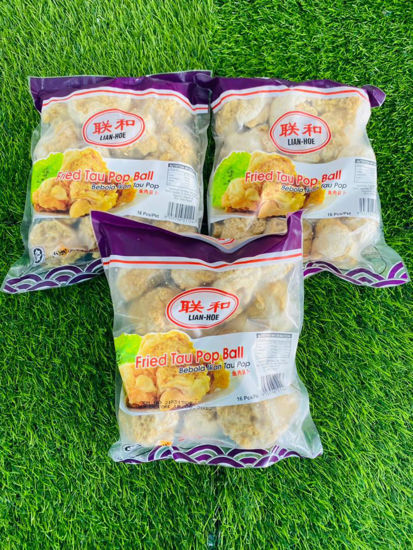 Picture of FRIED TAU POP BALL<br> 鱼肉豆卜 <br> (1PKT / 16pcs )