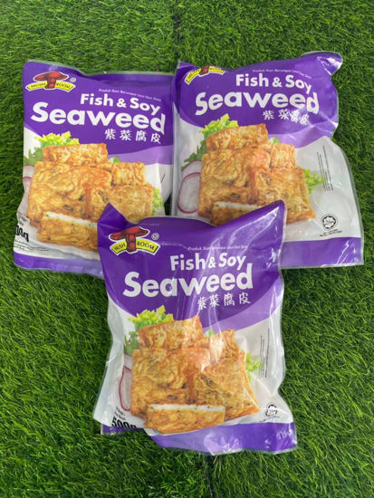 Picture of M/ROOM F&S SEAWEED <br> 紫菜腐皮 <br>( 1PKT / 500g )