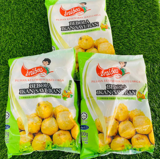 Picture of INIBES FRIED VEGETABLE BALL (1pkt/900g)