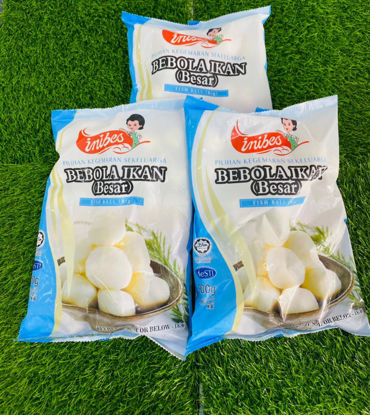 Picture of INIBES FISH BALL (B) (1pkt/900g)