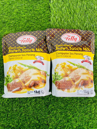 Picture of TELLY DEMIGLACE BROWN SAUCE <br> ( 1PKT / 1KG )