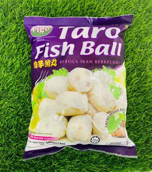 Picture of FIGO TARO YAM FISH BALL <br>香芋鱼丸<br> (1pkt / 500g )