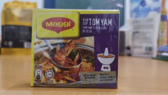 Picture of MAGGI TOM YAM STOCK CUBE <br> ( 1PKT / 60g )
