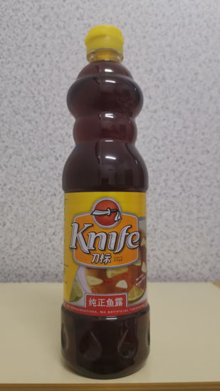 Picture of KNIFE THAI FISH SAUCE<br>( 1BOTOL / 750ml )