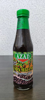 Picture of AZAD BLACK PEPPER SAUCE<br>( 1BOTOL / 340g )